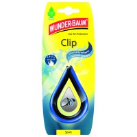 Závěsná vůně do auta Wunder-Baum Clip Sport