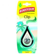 Závěsná vůně do auta Wunder-Baum Clip Tropical 14c6e52bfb2